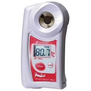 Réfractomètre numérique : réfractomètre PAL-2 pour la teneur en sucre - ATAGO