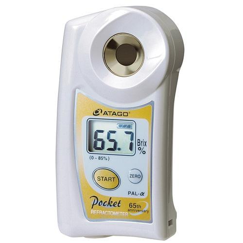 Réfractomètre numérique : réfractomètre PAL-alpha pour la teneur en sucre - ATAGO