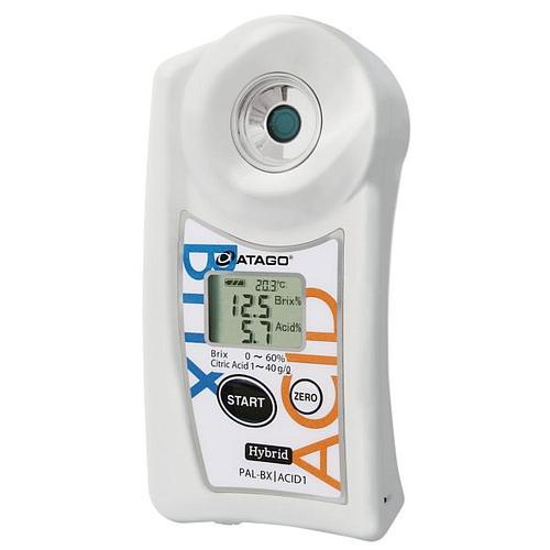 Réfractomètre numérique : réfractomètre PAL-BX/ACID1 - ATAGO