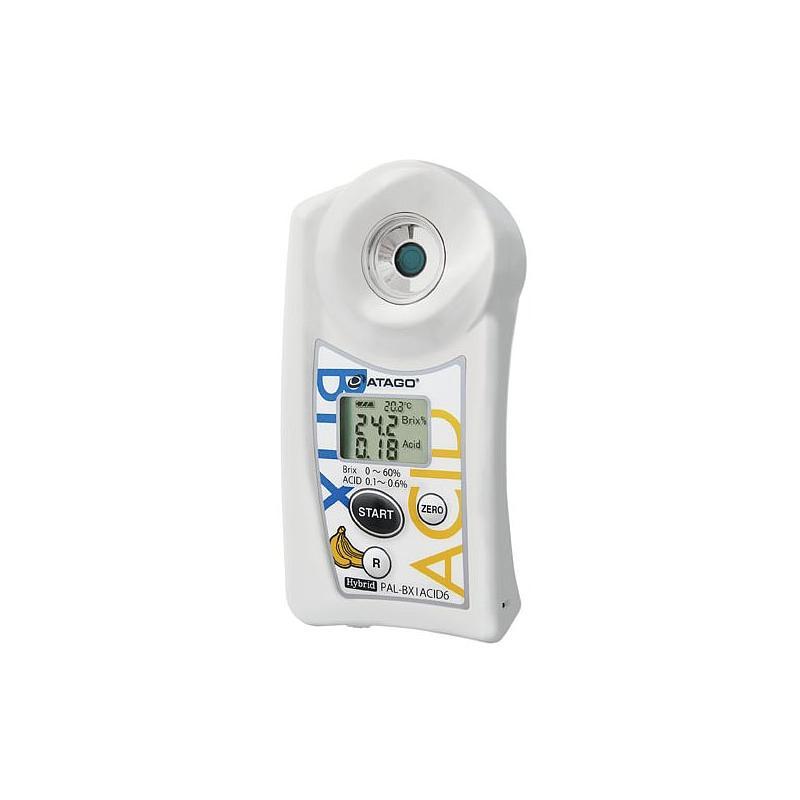 Réfractomètre numérique : réfractomètre PAL-BX/ACID6 - Spécial Banane - ATAGO