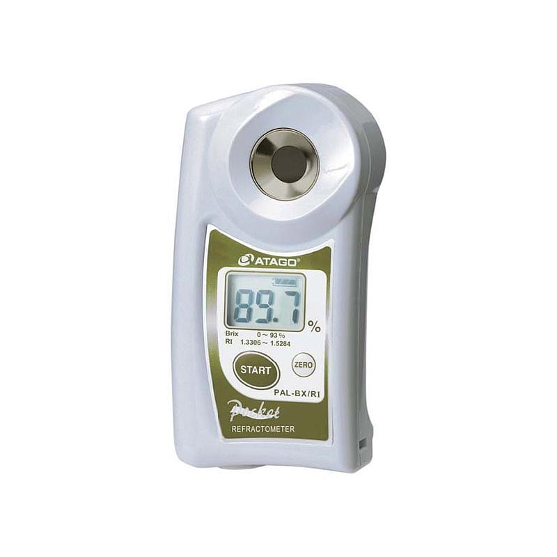 Réfractomètre numérique : réfractomètre PAL-BX/RI pour la teneur en sucre et l'indice de réfraction - ATAGO