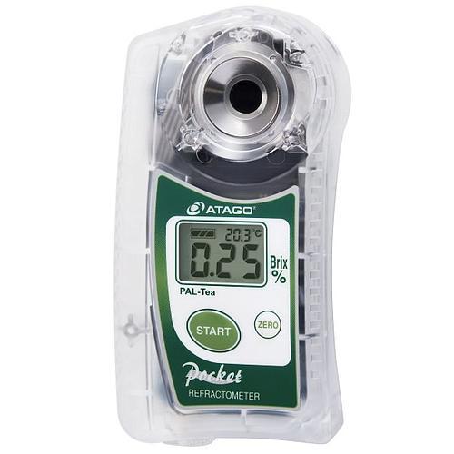 Réfractomètre numérique : réfractomètre PAL-Tea pour la teneur en sucre - ATAGO
