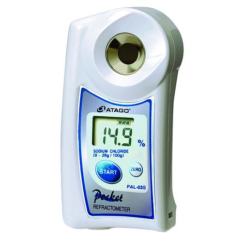Réfractomètre numérique : réfractomètre salinité PAL-03S - ATAGO