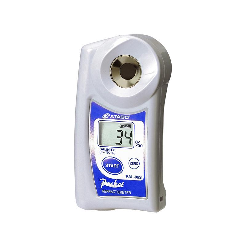 Réfractomètre numérique : réfractomètre salinité PAL-06S - ATAGO