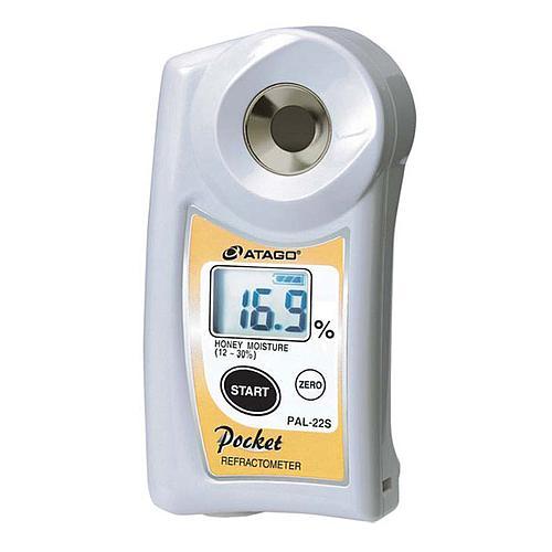 Réfractomètre numérique : réfractomètre teneur en eau du miel PAL-22S - ATAGO