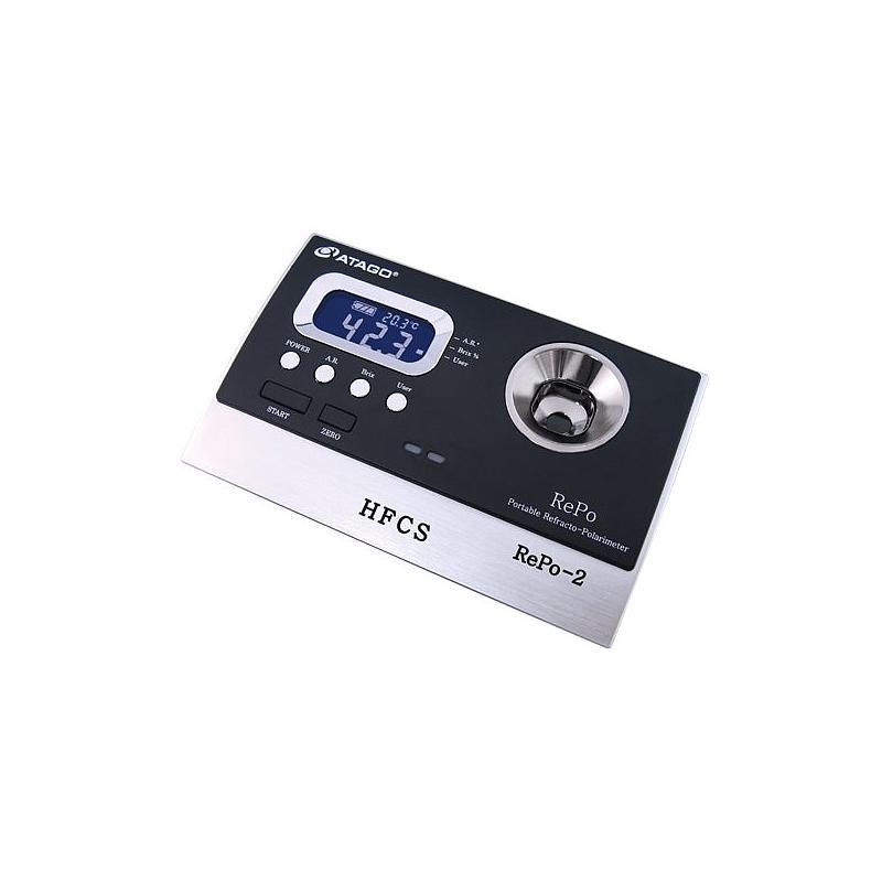 Réfractomètre / polarimètre numérique REPO-2 - ATAGO