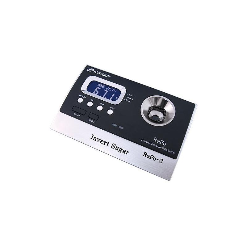 Réfractomètre / polarimètre numérique REPO-3 - ATAGO