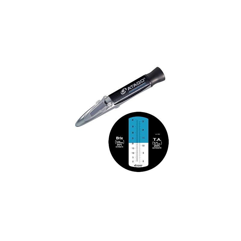 Réfractomètre TA-1990 : réfractomètre Master-TA pour le vin - ATAGO