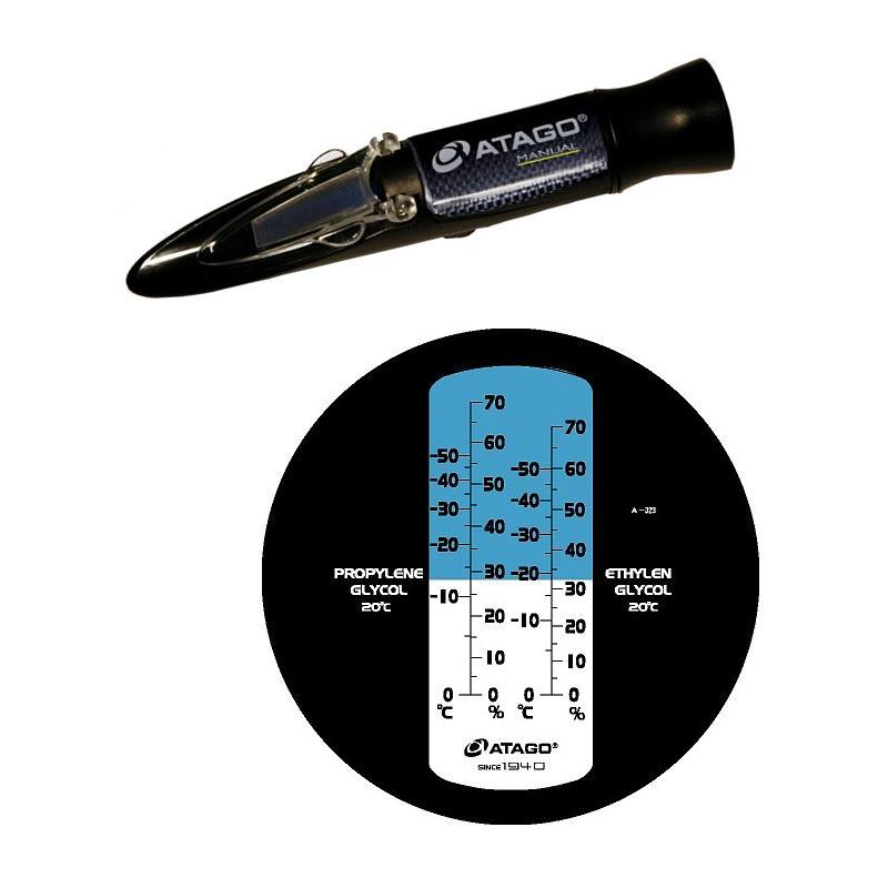 Réfractomètres à main : réfractomètre Atago Master-BR