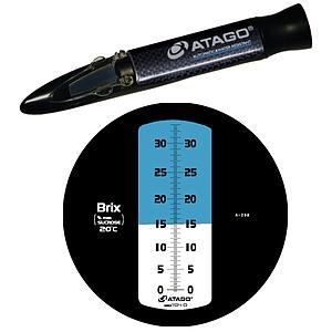 Réfractomètres à main : réfractomètre Salinité Master-28 alpha - ATAGO