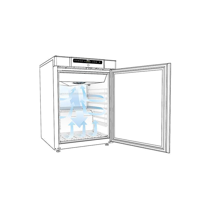 Réfrigérateur antidéflagrant BioCompact II RR210 Porte vitrée - GRAM