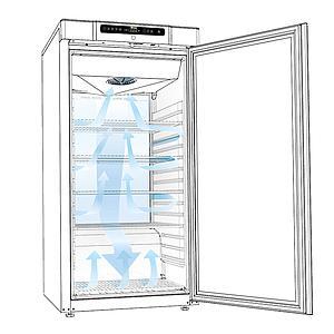 Réfrigérateur antidéflagrant BioCompact II RR310 Porte vitrée - GRAM