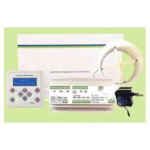 Régulateur d'air avec variateur pour sorbonne RD.P