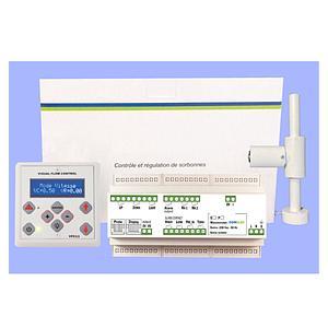 Régulateur d'air avec variateur pour sorbonne RV.P