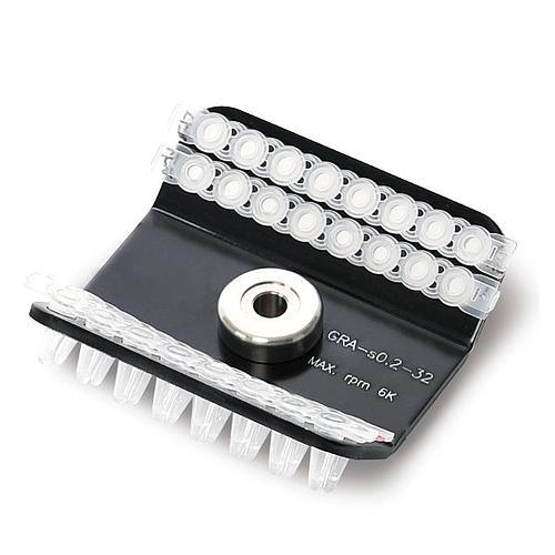 Rotor angle fixe de Mini 4x8 tubes PCR
