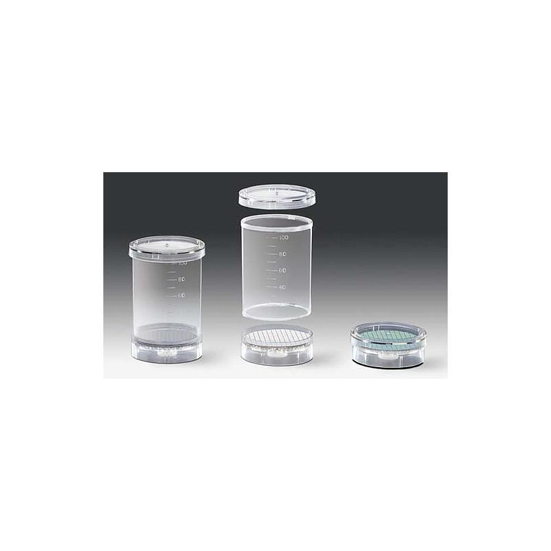 SAR-164014707ACK - Unité de filtration Biosart 100 - 0.2 µm - blanche quadrillage noir