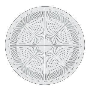 SC-07153 - Réticule cercle 360°