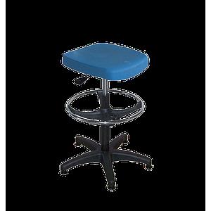 Semi-assis polyuréthane haut avec repose-pieds - Kango