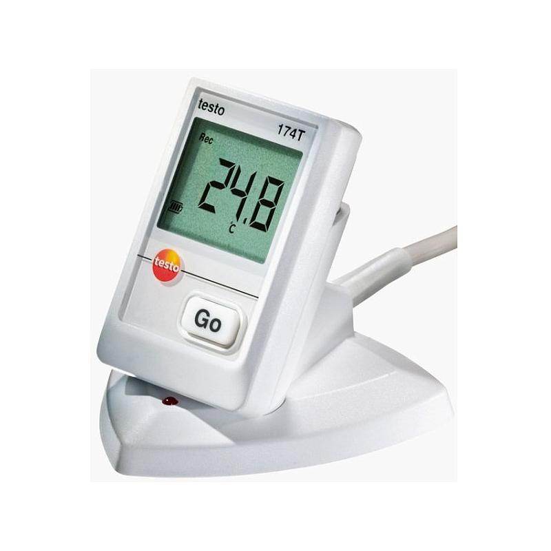 SET COMPLET : Enregistreur de données: système d'enregistrement et traçabilité de température 174-T - TESTO