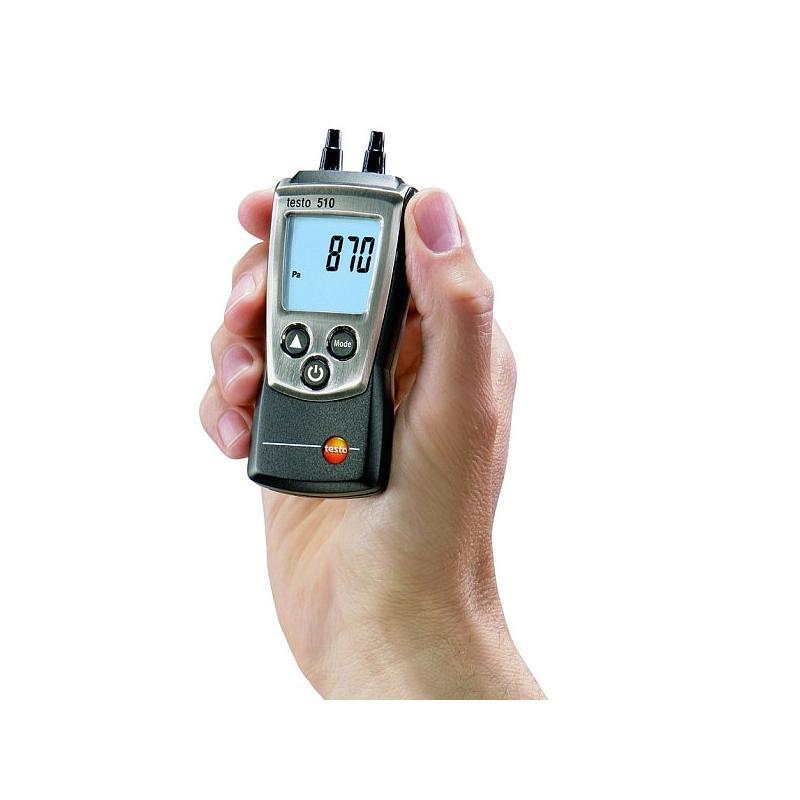 Set de pression testo 510 - Mesure de pression différentiellle