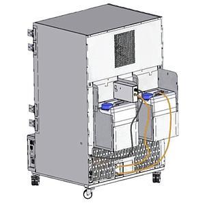 Set de réservoirs d'eau pour alimentation et rejet
