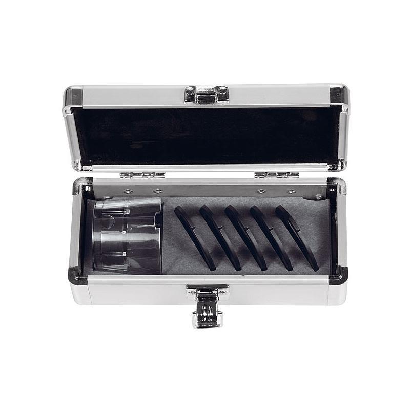 Set Loupe de mesure avec jupe transparente : focale variable 8x - Tech-Line - Schweizer