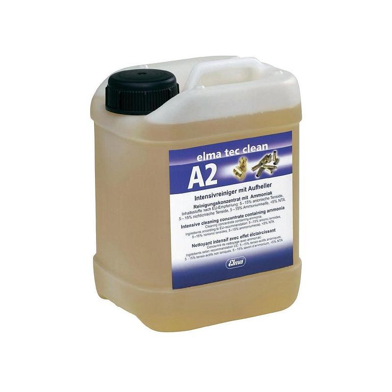 Solution pour nettoyage aux ultrasons Elma Tec Clean A2 - bidon de 10 litres