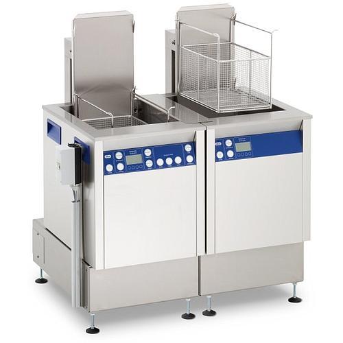 Station de nettoyage par ultrasons avec agitation et unité de rinçage Elma X-Tra 1200 USMFOSW - Multifréquence