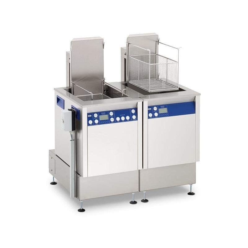 Station de nettoyage par ultrasons avec agitation et unité de rinçage Elma X-tra 550 USMFOSWH - Multifréquence