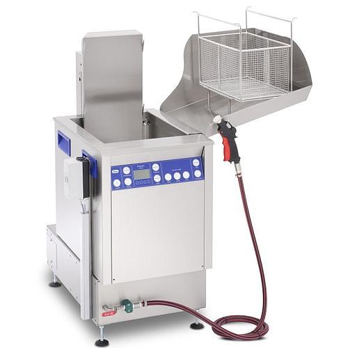 Station de nettoyage par ultrasons avec unité de rinçage Elma X-Tra Line Flex 1 300 USMFO - Multifréquence