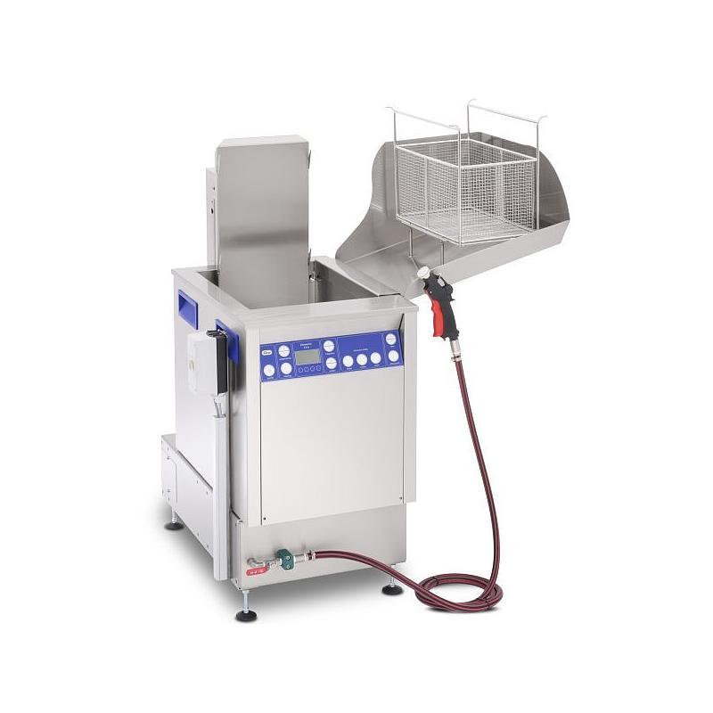 Station de nettoyage par ultrasons avec unité de rinçage Elma X-Tra Line Flex 1 800 USMFO - Multifréquence