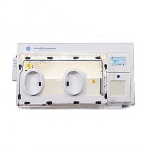 Station hypoxie H35 - Panneau avant amovible, manchons et filtre HEPA- Don Whitley