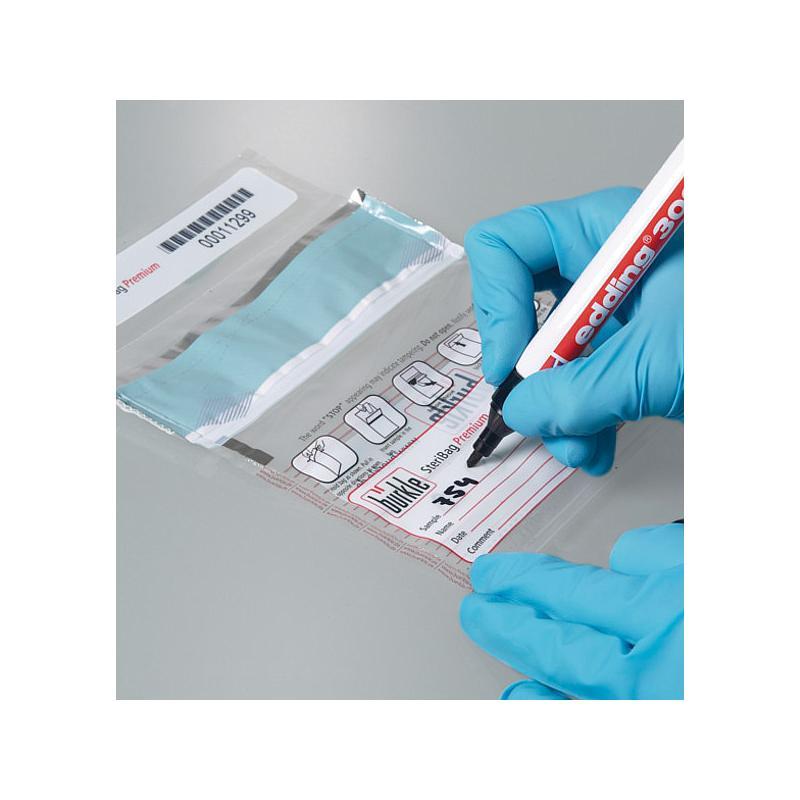 SteriPlast Kit pour un prélèvement stérile - Lot de 10 pelles & sachets - Bürkle