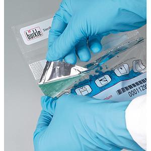 SteriPlast Kit pour un prélèvement stérile - Lot de 10 spatules & sachets - Bürkle