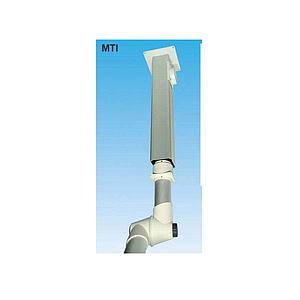 Support plafonnier pour Ø 100mm - L=500mm - Fumex