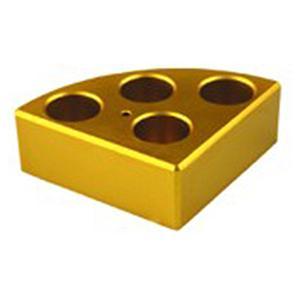 Support plaque chauffante pour 4 tubes Ø21.6mm - DLAB