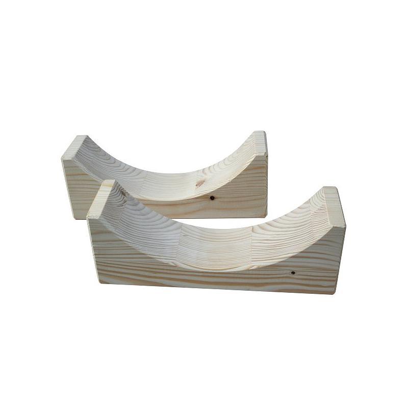 Supports en bois pour fût de sécurité 25TZ - Lot de 2 - Rötzmeier