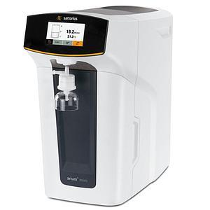 Système combiné de purification d'eau Arium® Mini Plus - Type 1 et 3 - Lampe UV - Sartorius