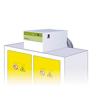 Système de filtration autonome pour armoire de sécurité - CHEMTRAP H402 V03 - Filtre solvant AS - ERLAB
