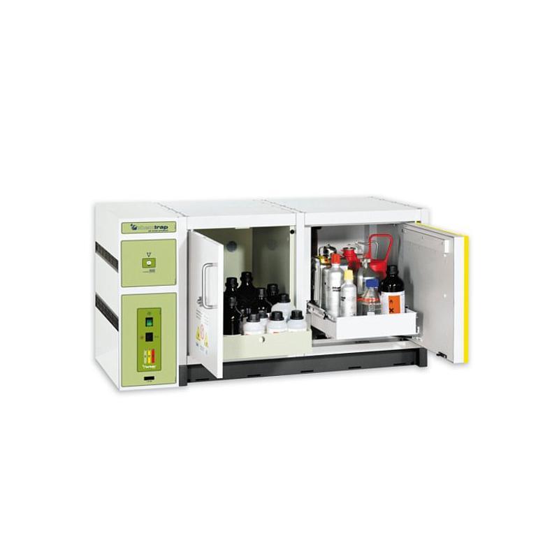Système de filtration autonome pour armoire de sécurité - CHEMTRAP V201 V01 - Filtre acide/ base BE+ - ERLAB