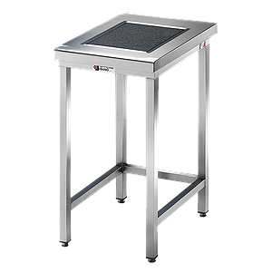 Table de pesée anti-vibrations inox soudée - 900 x 700 mm - Bano