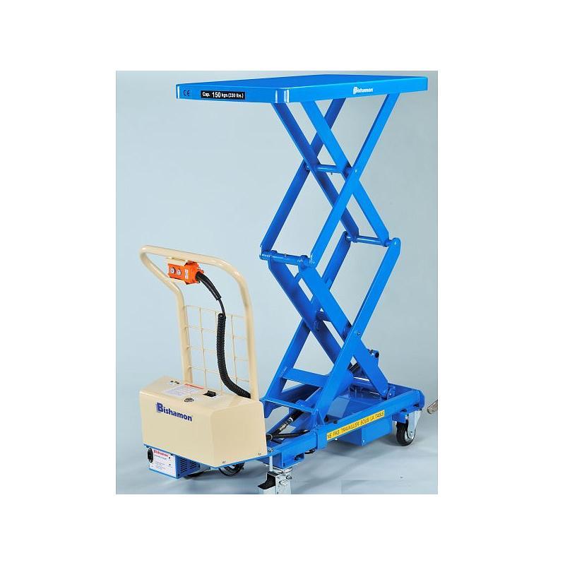 Table élévatrice électrique Bishamon BX-15WB - 150 kg