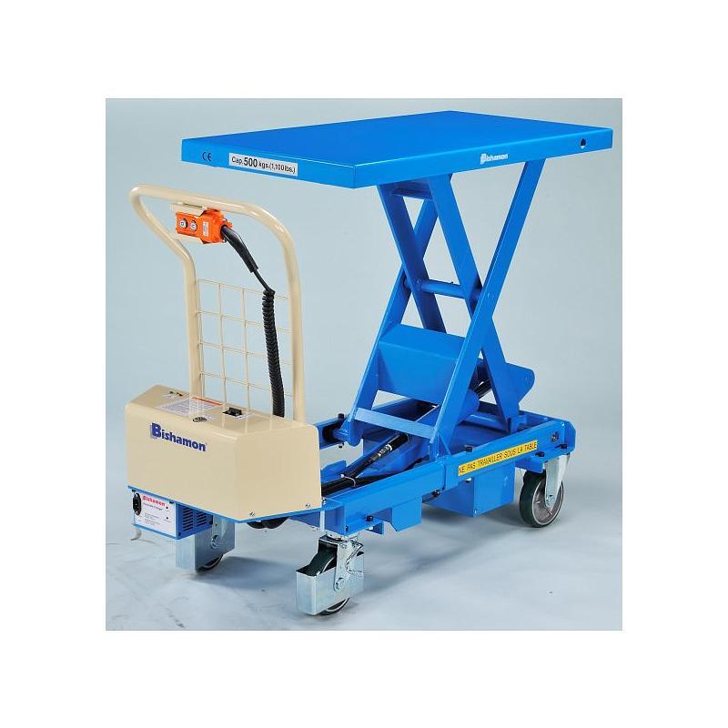 Table élévatrice électrique Bishamon BX-50B - 500 kg