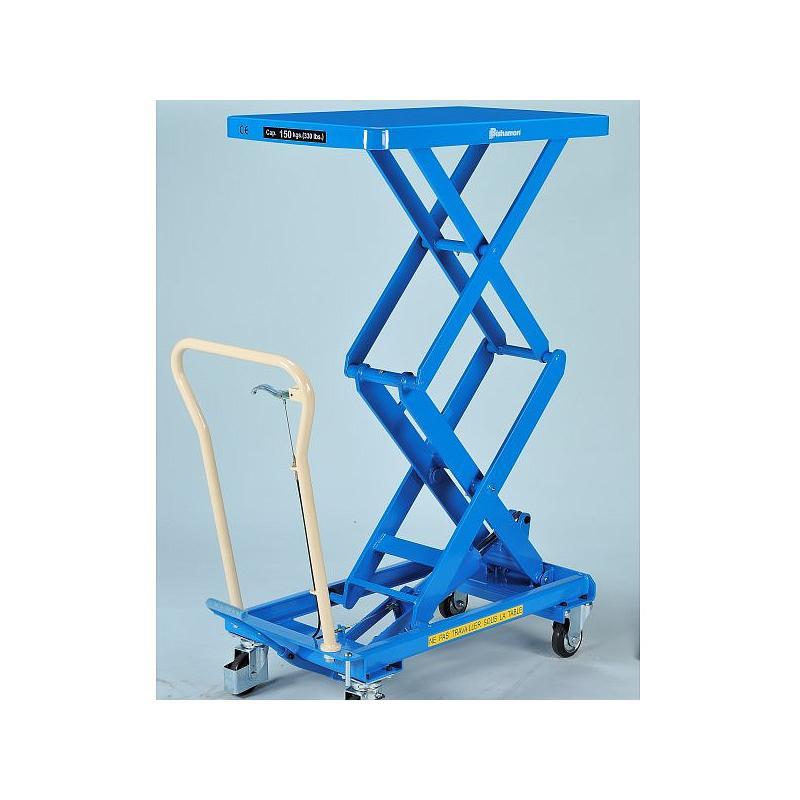 Table élévatrice hydraulique Bishamon BX-15W - 150 kg