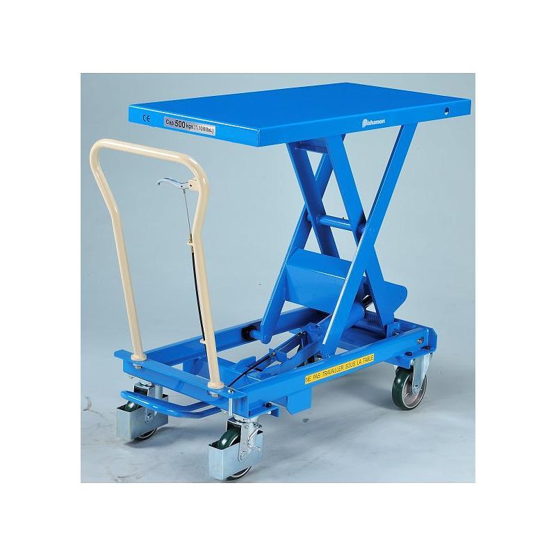 Table élévatrice hydraulique Bishamon BX-50 - 500 kg
