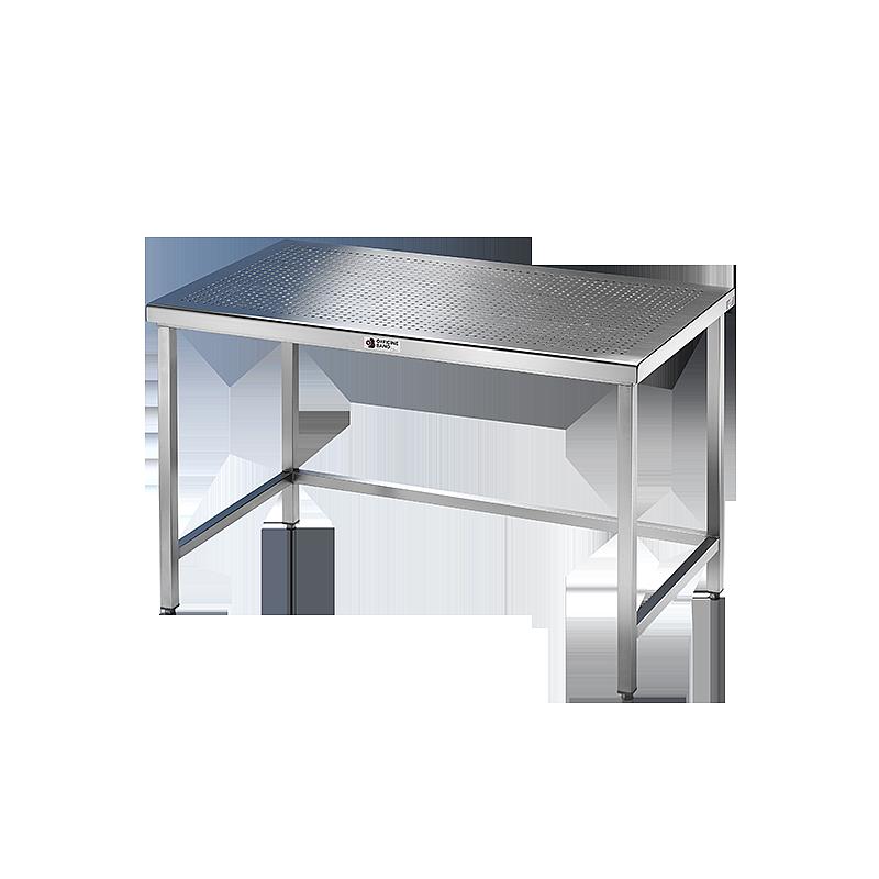 Table inox soudée pour salle blanche - Pharma Line - 1800 x 700 cm - Bano