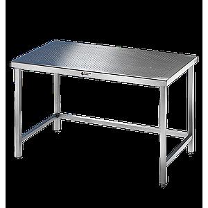Table inox soudée pour salle blanche - Pharma Line - 1800 x 800 mm - Bano
