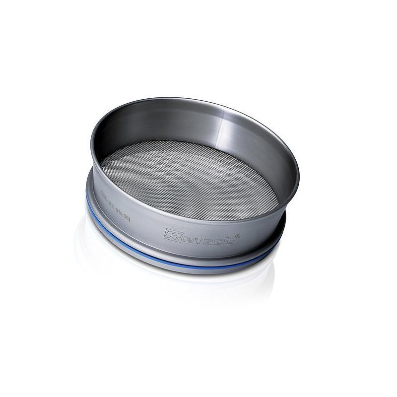 Tamis acier inox Ø 305 mm - Hauteur 40 mm - 1.00 mm avec certificat de conformité EN 10204 2.1