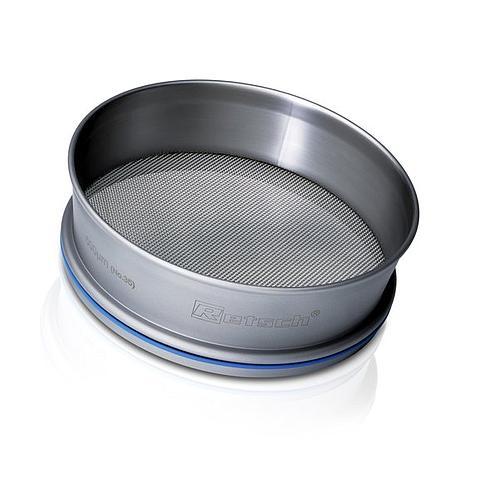 Tamis acier inox Ø 305 mm - Hauteur 40 mm - 250 µm avec certificat de conformité EN 10204 2.1