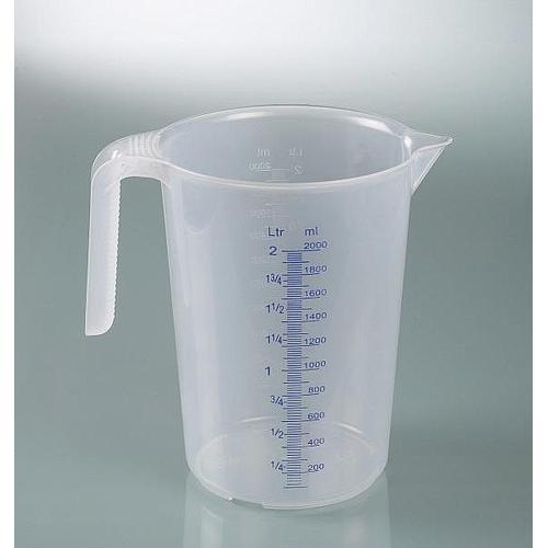 Tasse à mesurer industrielle - avec poignée - empilable - 3000 ml - Bürkle